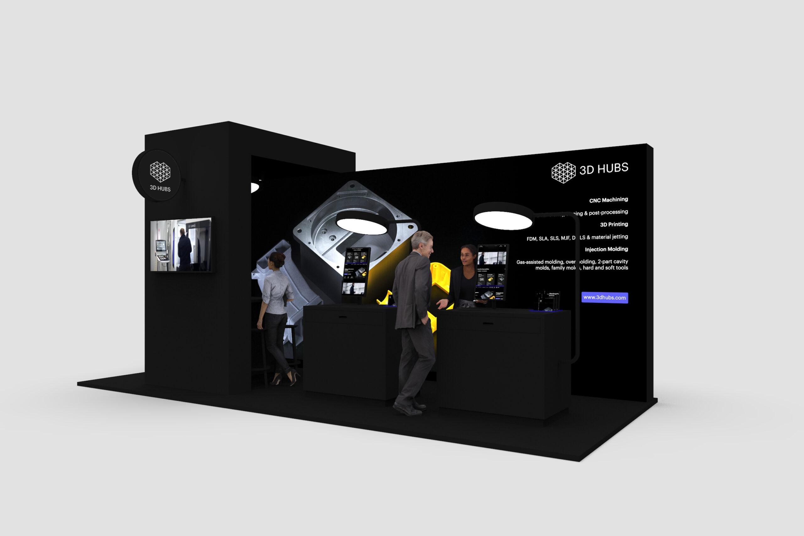 3D Hubs Booth